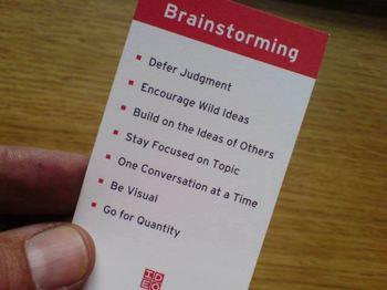 Brainstormrules
